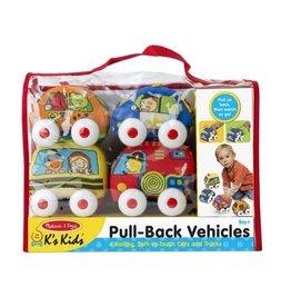 Melissa & Doug Pull-Back Town Vehicles