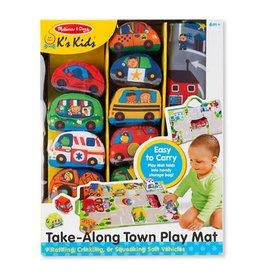 Melissa & Doug Take-Along Town Play Mat
