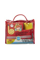 Melissa & Doug Soft Activity Baby Book - Firefighter Fred to the Rescue