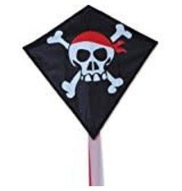 Premier Kites Skull & Cross Bones Mini Diamond Kite