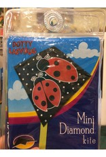 Premier Kites Dotty Ladybug Mini Diamond Kite