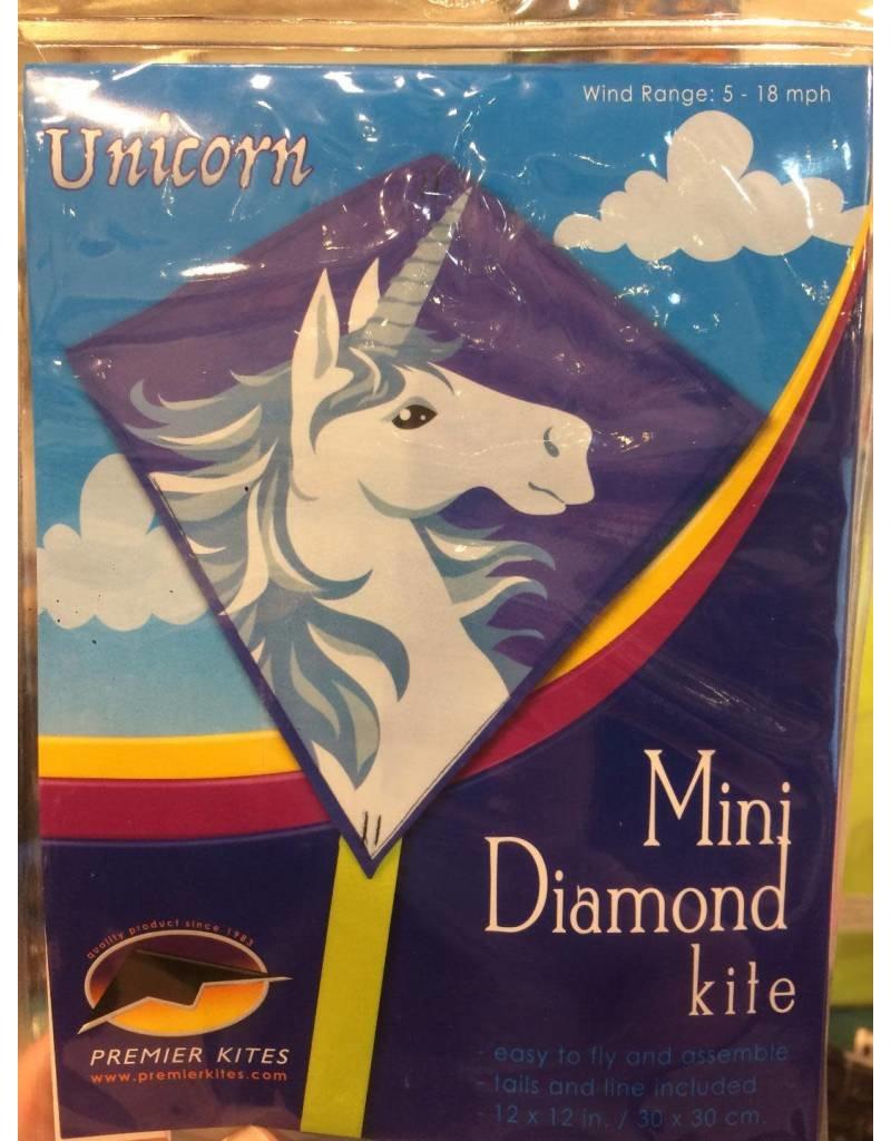 Premier Kites Unicorn Mini Diamond Kite