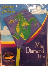 Premier Kites Sparky the Dragon Mini Diamond Kite