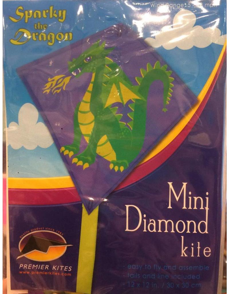 Premier Kites Sparky the Dragon Mini Diamond Kite