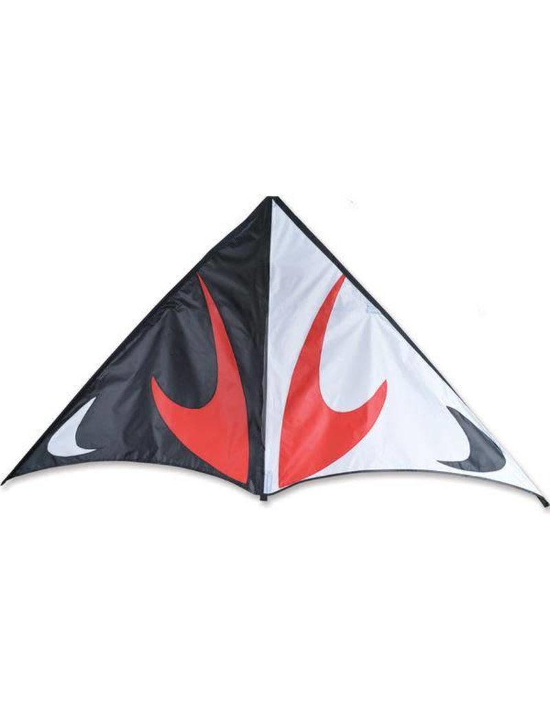 "Premier Kites 80"" Travel Delta, Black & Red, Travel Kite"