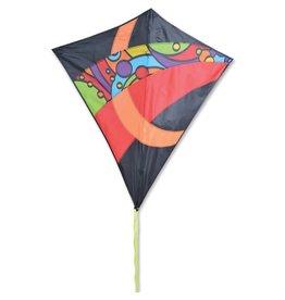 """Premier Kites 38"""" Travel Diamond Orbit Tronic Kite"""