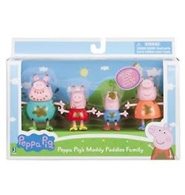 Zoofy International INC Peppa Pig's Muddy Puddles Family