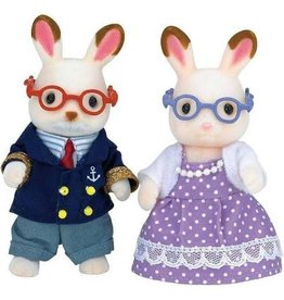 International Playthings Calico Critters Hopscotch Rabbit Grandparents