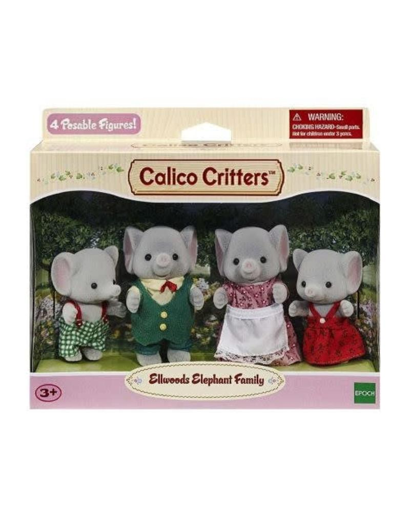 Calico Critters Calico Critters Ellwoods Elephant Family