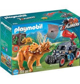 Playmobil Playmobil Enemy Quad with Triceratops 9434