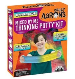 Crazy Aaron Putty Hypercolor Mixed by Me Thinking Putty Kit