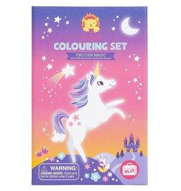 Tiger Tribe Colouring Sets-Unicorn Magic