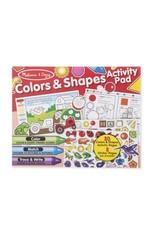 Melissa & Doug Color & Shapes Activity Pad