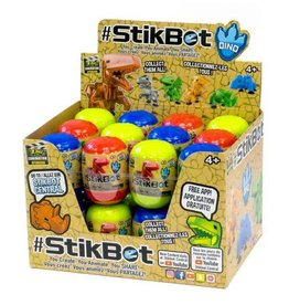 Zing Toys STIKBOT DINO EGGS ASSORTMENT