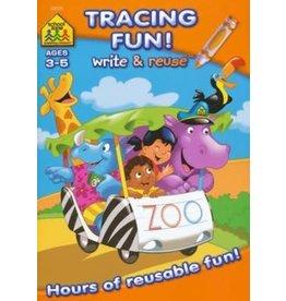 School Zone Tracing Fun! Write & Reuse