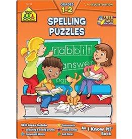 School Zone Spelling Puzzles Grades 1-2