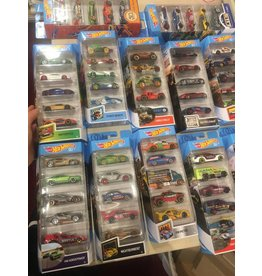 Mattel Hot Wheels 5 CAR PACK ASST
