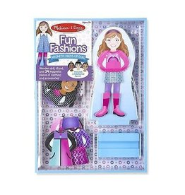 Melissa & Doug Magnetic Dress-Up Doll Fun Fashions