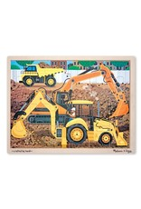 Melissa & Doug 24 Piece Wooden Jigsaw Puzzle Fresh Start