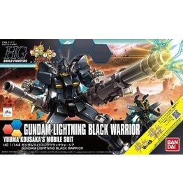 Bandai Gundam Lightning Black Warrior - Yuuma Kousaka's Mobile Suit
