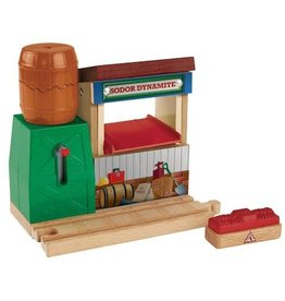 Fisher-Price Thomas & Friends Wooden Railway - Sodor Dynamite Blast