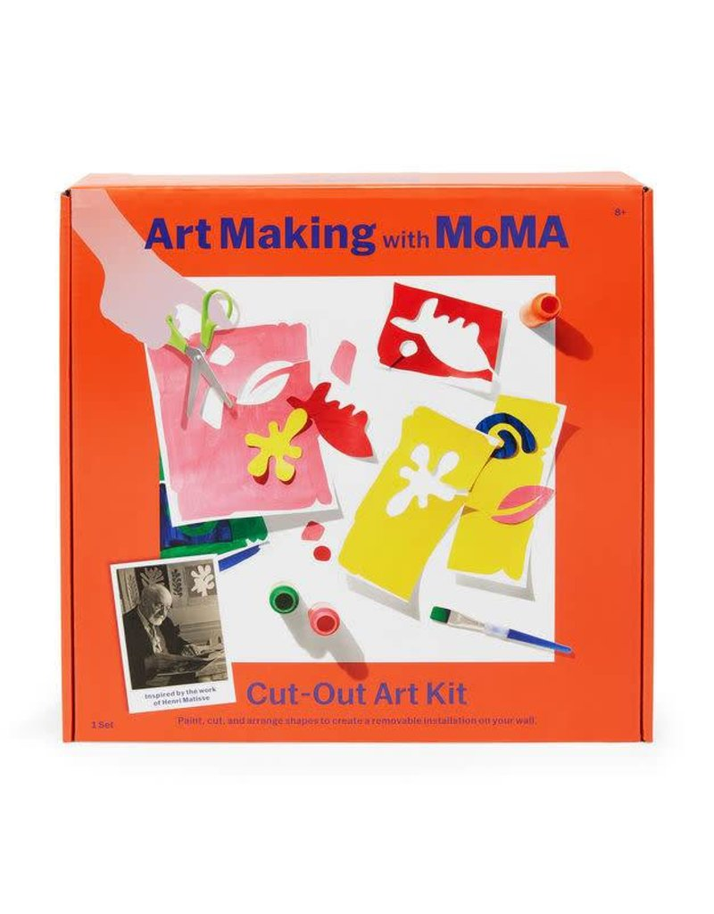 ART MAKING WITH MOMA Cut Out Art Kit
