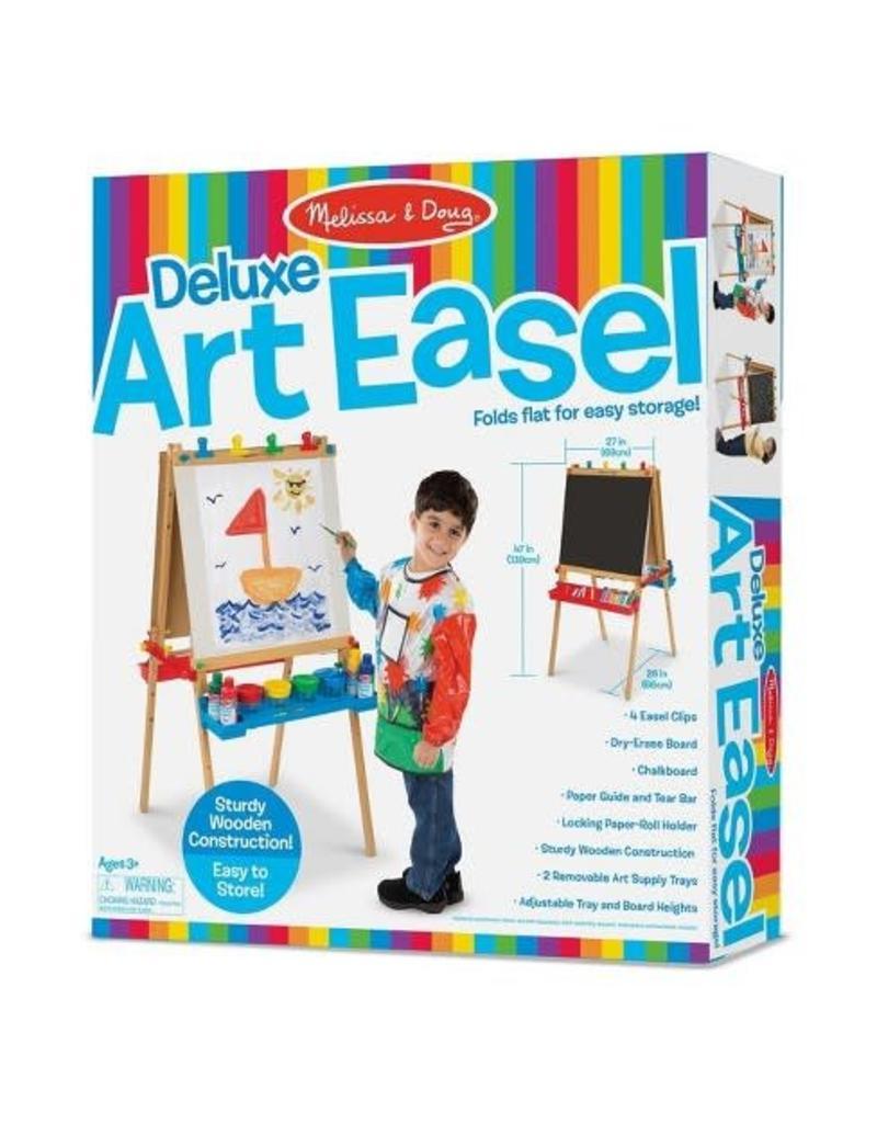 Melissa & Doug Deluxe Wooden Standing Art Easel
