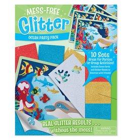 Melissa & Doug Mess-Free Glitter Ocean Party Pack