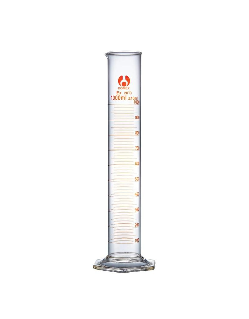 Bomex Glass Graduated Cylinder 1000ml