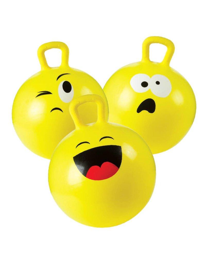 """Toysmith Happy Hoppy Ball with Pump - 18"""""""