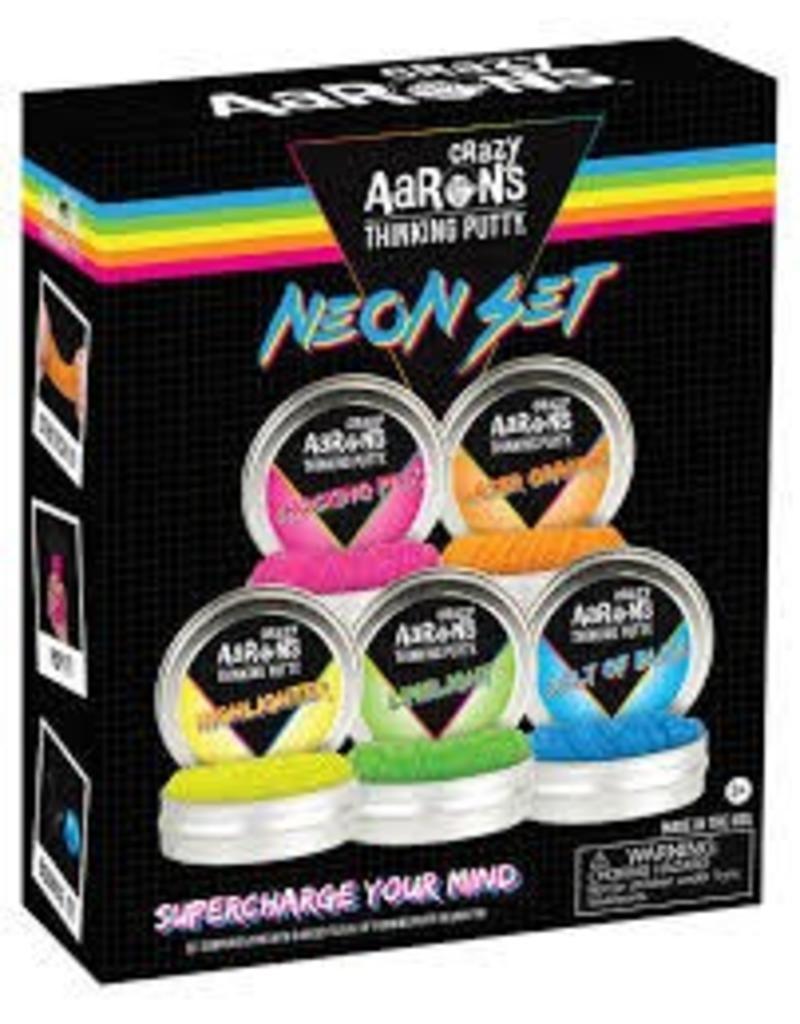 Crazy Aaron Putty Thinking Putty Neon Set
