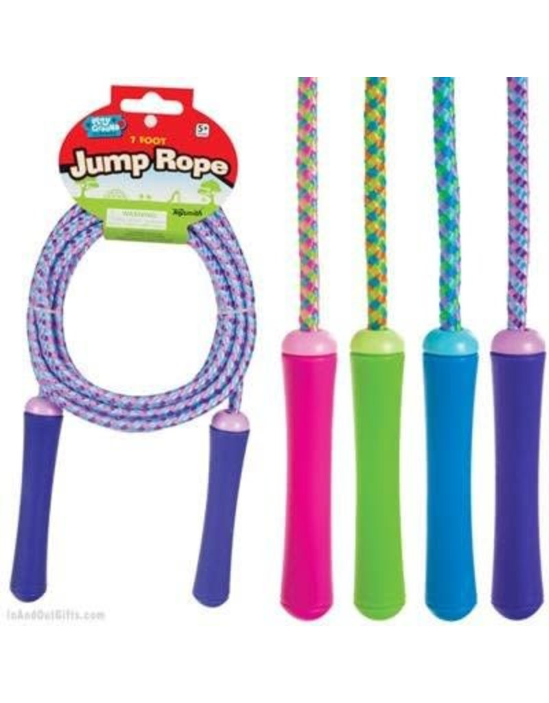 Toysmith Jump Rope (Assorted Colors; 7')