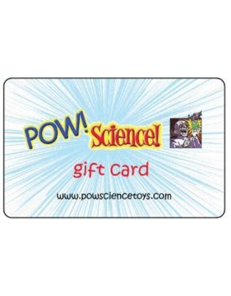 Pow! Science! Gift Card $75