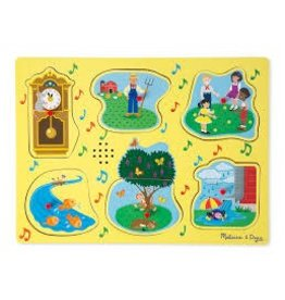Melissa & Doug Nursery Rhymes 1 - Sound Puzzle