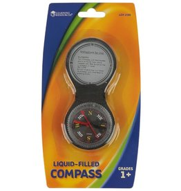 Learning Resources Liquid-Filled Compass