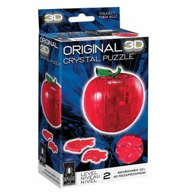 University Games Original 3D Crystal Puzzle - Apple