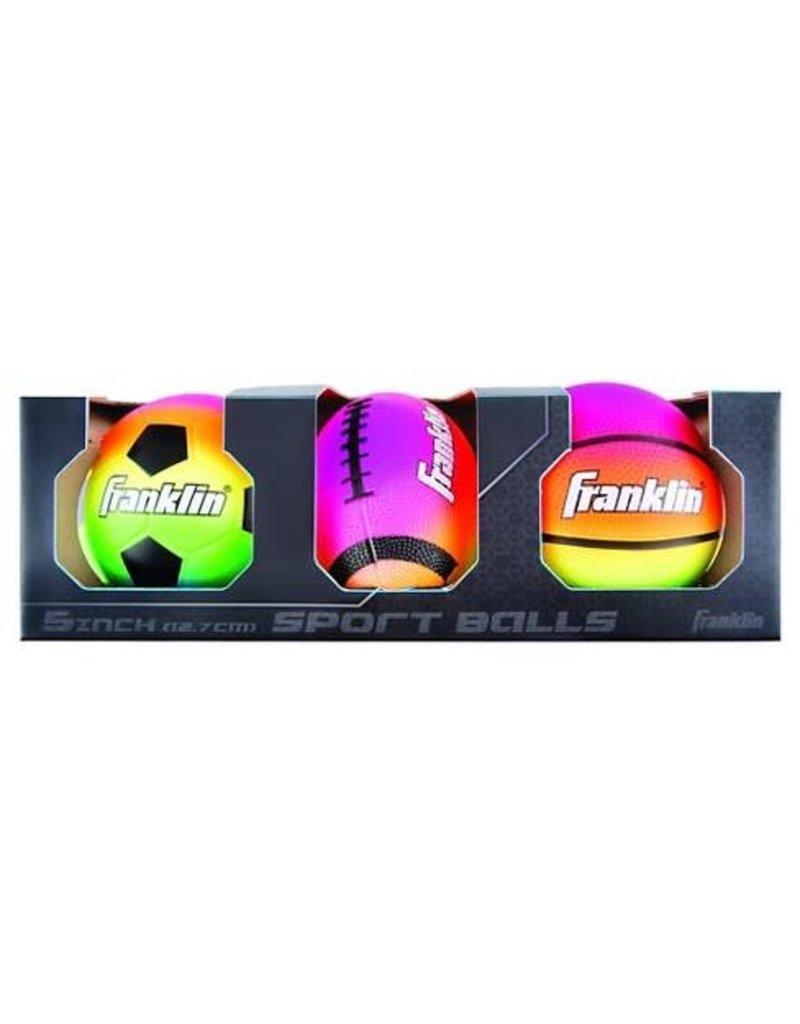 Franklin Sports 5 Inch Sport Balls