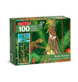 Melissa & Doug Rain Forest Floor (100 pc)