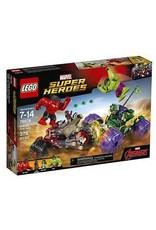 Lego Marvel Super Heroes Hulk vs. Red Hulk