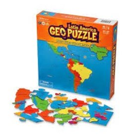 Geo Toys Latin America Geopuzzle