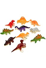 "Rhode Island Novelty Set of 10 - Mini Assorted Dinosaurs (2"")"