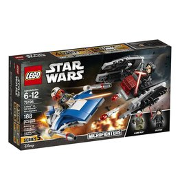 Lego Lego Star Wars 75196 - A-Wing vs.TIE Silencer Microfighters