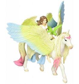 Schleich Fairy Surah with glitter pegasus