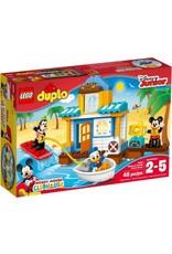 DUPLO Disney TM LEGO Duplo Mickey & Friends Beach House