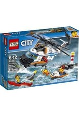 City Coast Guard Lego City 60166 Heavy-duty Rescue Helicopter V39