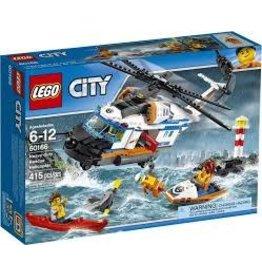 City Coast Guard Lego City 60166 Heavy-duty Rescue Helicopter V39
