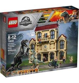Lego Jurassic Wrold Lego Jurassic World Indoraptor Rampage at Lockwood Estate 75930