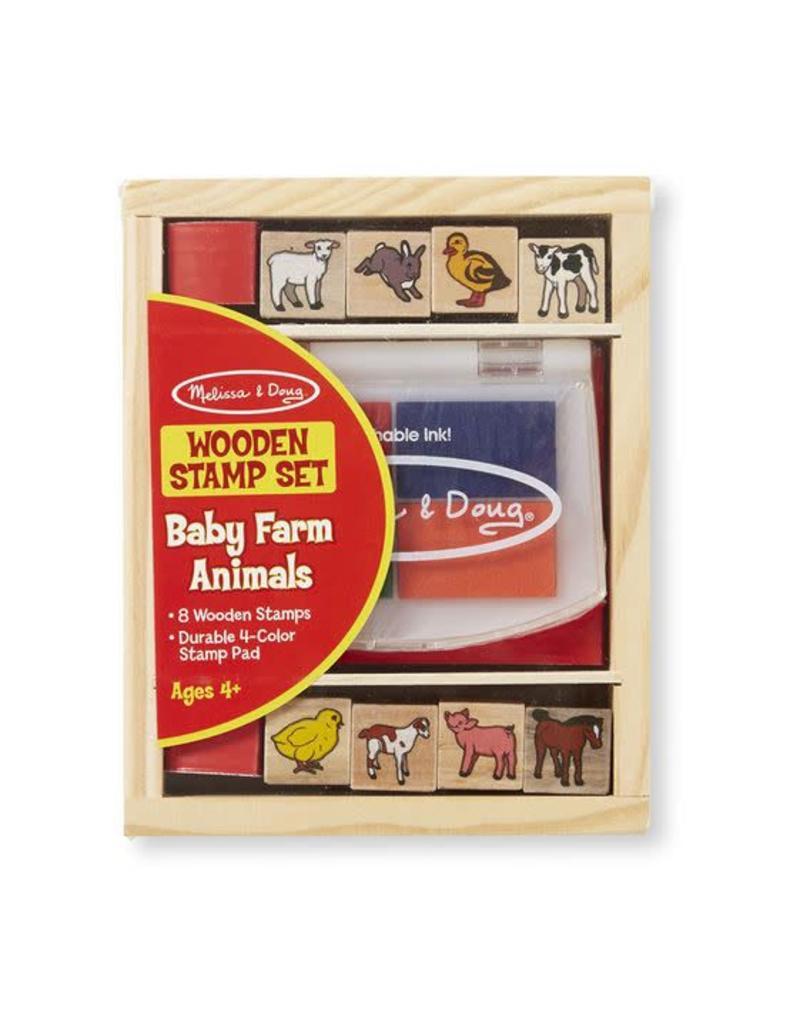 Melissa & Doug Baby Farm Animals Stamp Set