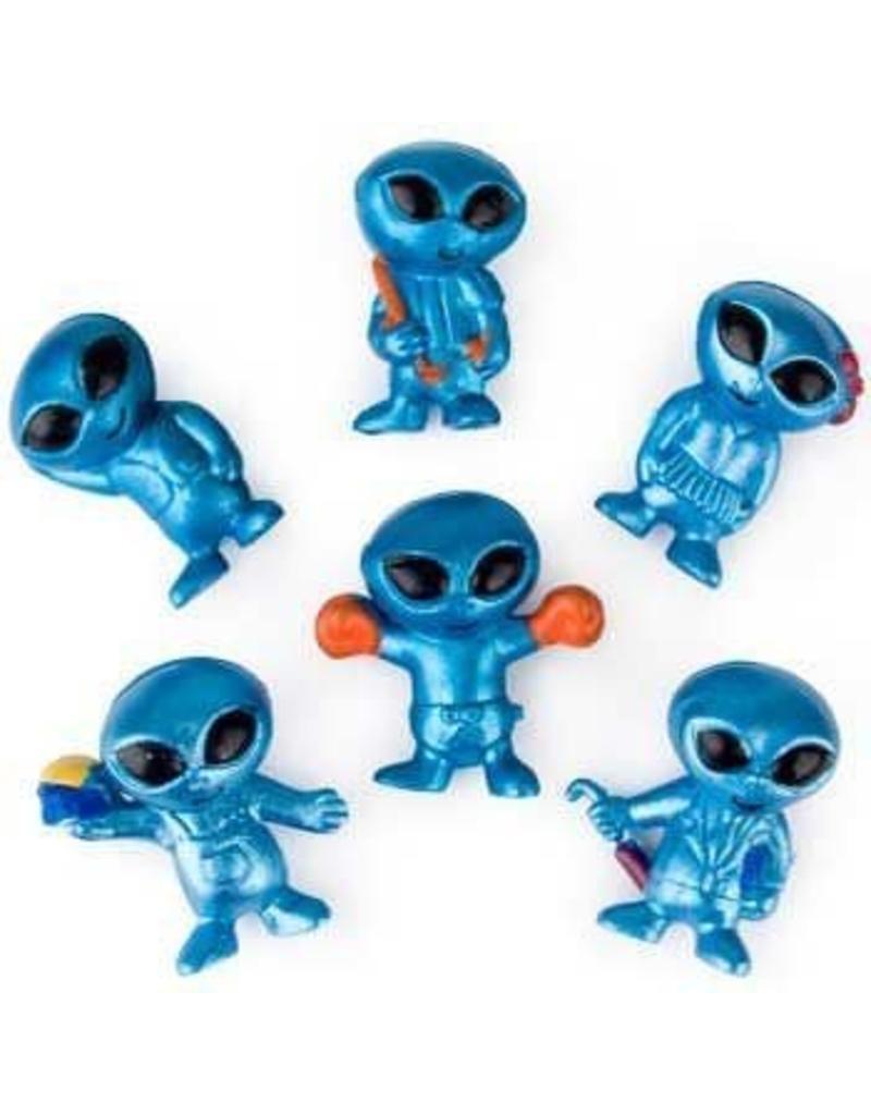 "Rhode Island Novelty 1"" Blue Alien Bendable Pack of 48 - Online Only"
