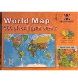 Geo Toys 500 pc World Puzzle